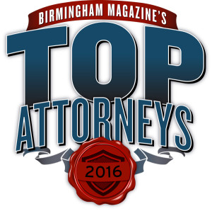 Birmingham Magazine's Top Attorneys 2016